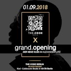 The Code Berlin The Code Berlin - Die große Club-Eröffnung - Direkt am Alexanderplatz!