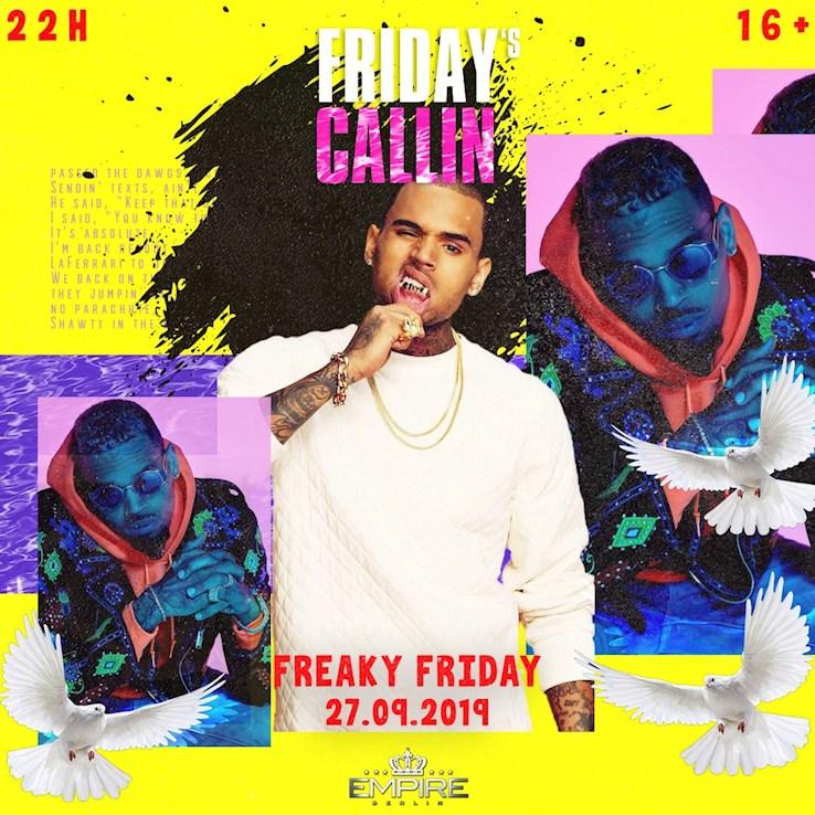 Empire 27.09.2019 Friday's Callin Presents: Freaky Friday