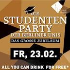 Haus Ungarn Berlin Die Studentenparty der Berliner Unis - Das große Jubiläum