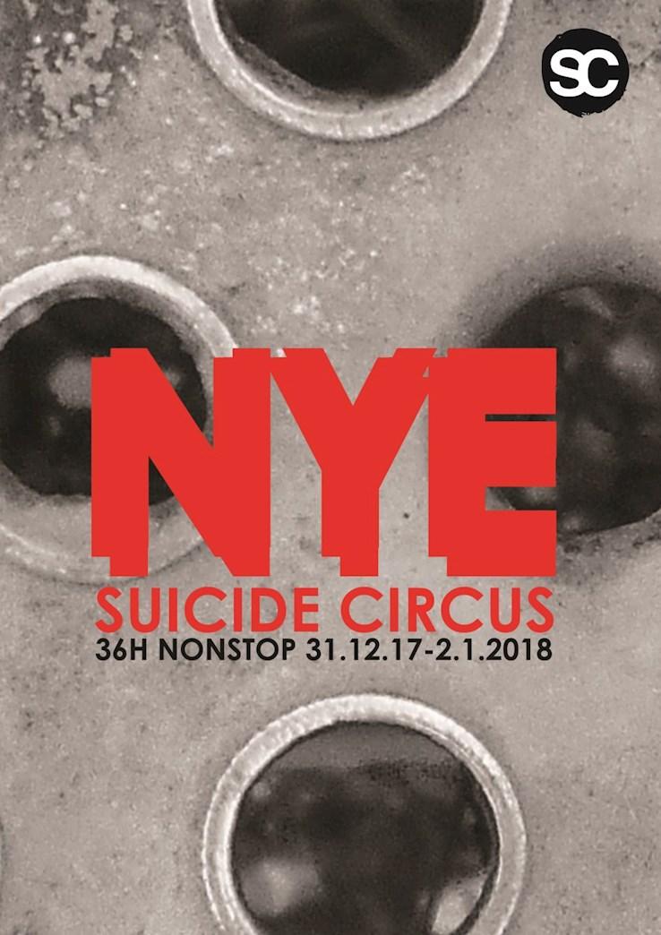 Suicide Club Berlin Eventflyer #1 vom 31.12.2017