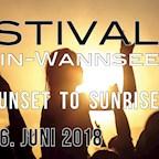 Insel Lindwerder  Festival Berlin-Wannsee