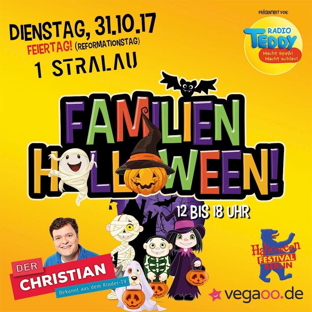 1 Stralau Berlin Das große Familien Halloween präsentiert von Radio TEDDY