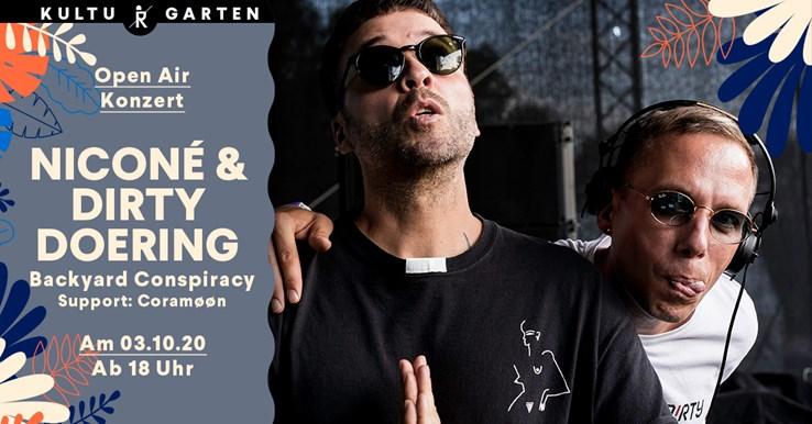 Ritter Butzke 03.10.2020 Niconé & Dirty Doering (Backyard Conspiracy) @Kulturgarten
