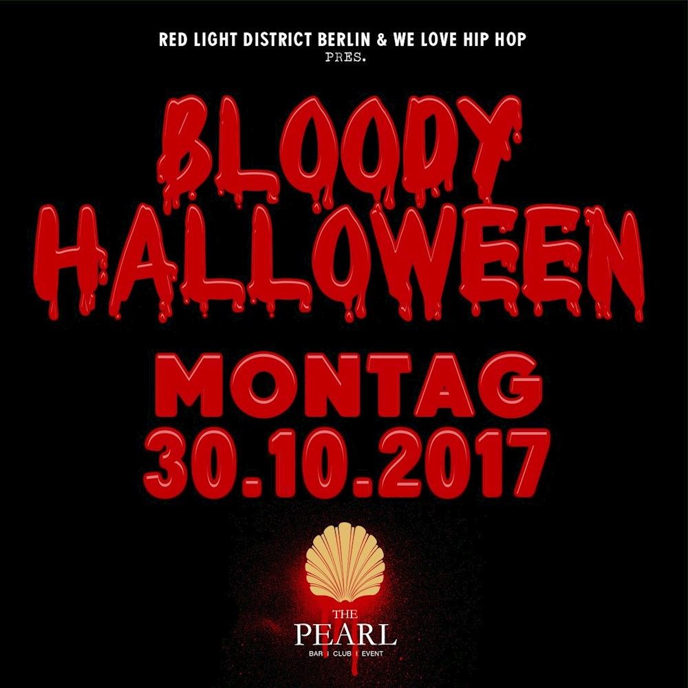 The Pearl Berlin Bloody Halloween By Rld & Wlhh