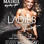 Matrix Berlin Ladies First: freier Eintritt für Ladies bis 0 Uhr