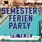 Haubentaucher Berlin Die Semesterferien Party der Berliner Unis