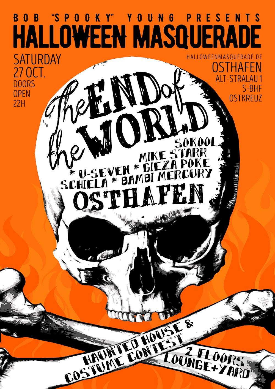 Osthafen Berlin Bob Young´s Halloween Masquerade 2018