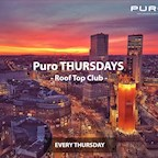 Puro Berlin Puro Thursdays Roof Top Club