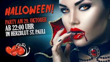 Herzblut St. Pauli Hamburg Eventflyer #1 vom 29.10.2016