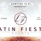 Club Weekend Berlin Latin Fiesta • Welcome 2019 • 15. Etage