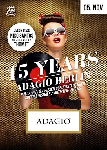 Adagio Berlin Eventflyer #1 vom 05.11.2016