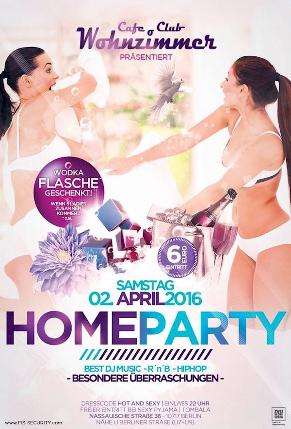Home Party Im Cafe Wohnzimmer Das