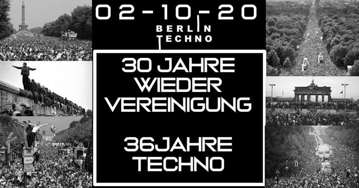 Der Weiße Hase 02.10.2020 30 Jahre Wiedervereinigung | 36 Jahre Techno