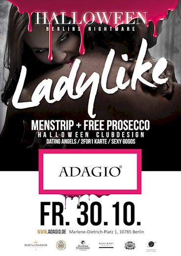 Adagio Berlin Eventflyer #1 vom 30.10.2015