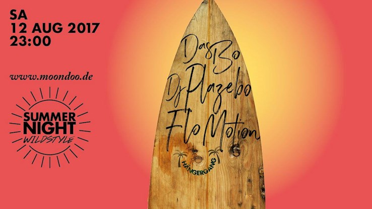 Moondoo Hamburg Eventflyer #1 vom 12.08.2017