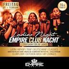 Empire Berlin Empire Club Nacht - Ladies Night