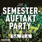 Haubentaucher Berlin Die Semesterauftakt Party der Berliner Unis