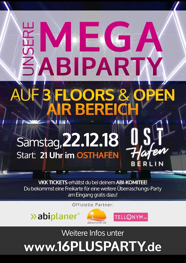 Osthafen Berlin Eventflyer #1 vom 22.12.2018