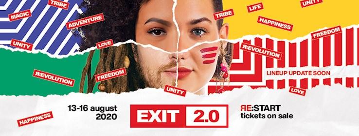 Belgrade, Serbia 13.08.2020 Exit Festival