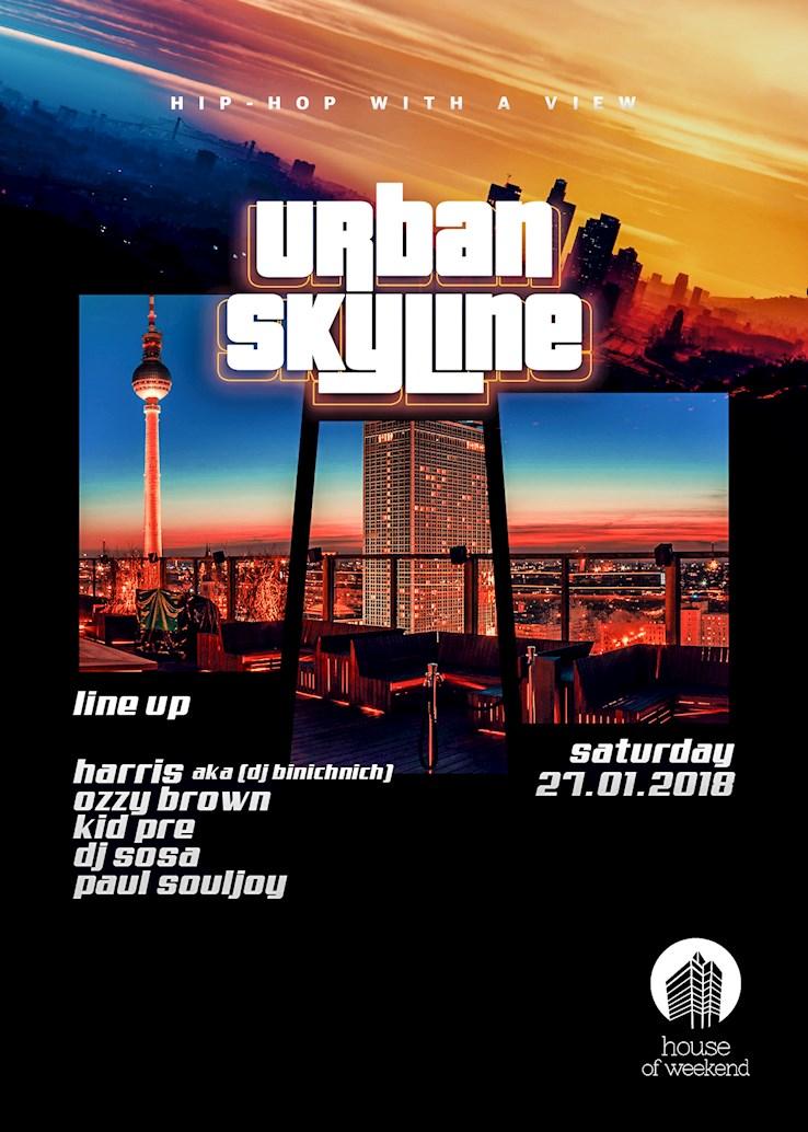 House of Weekend 27.01.2018 Urban Skyline - Hello 2018