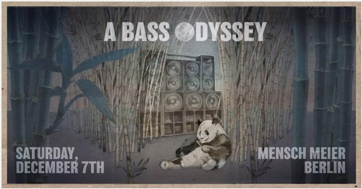 Mensch Meier 07.12.2019 A Bass Odyssey x Moonshine Recordings