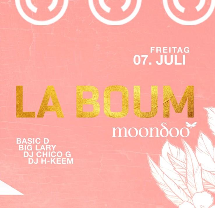 Moondoo Hamburg Eventflyer #1 vom 07.07.2017