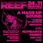 Griessmuehle Berlin Reef with A Made Up Sound, Mumdance, Parris, Cera Khin & re:ni