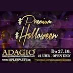 Adagio  Premium Halloween Night im Adagio - 16+ Event
