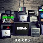 Bricks Berlin Urban Boutique #15 x 28 Black