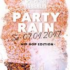E4 Berlin One Night in Berlin -  The Party Rain / Kick Off 2017