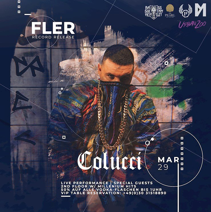 "The Pearl 29.03.2019 Fler ""Record Release Party"" @ Urban Zoo 