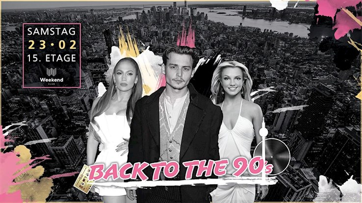 Club Weekend 23.02.2019 Back to the 90´s