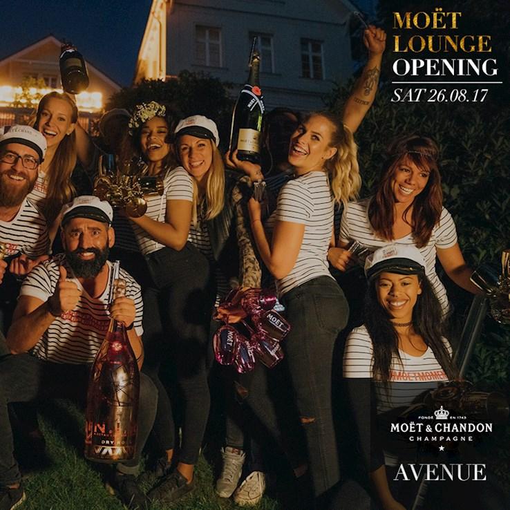 Avenue 26.08.2017 Moët Lounge Opening