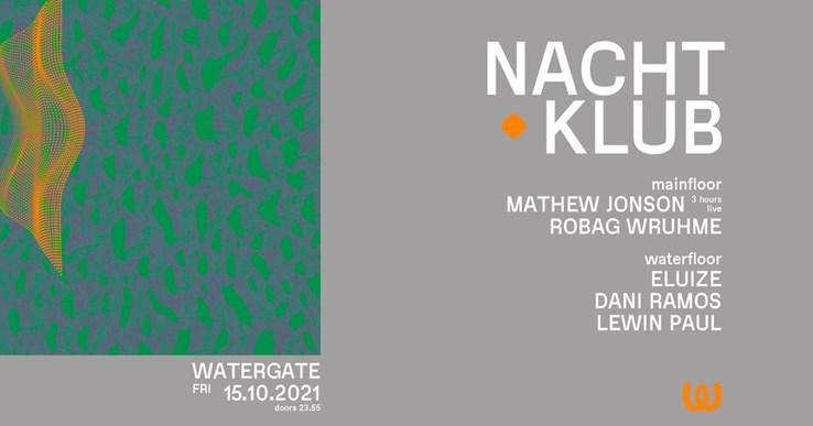 Watergate Berlin Eventflyer #1 vom 15.10.2021