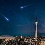 Club Weekend Berlin Nacht der Perseiden 2018 - Sternschnuppen Rooftop