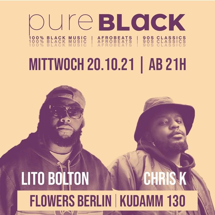 Flowers 20.10.2021 Pure Black