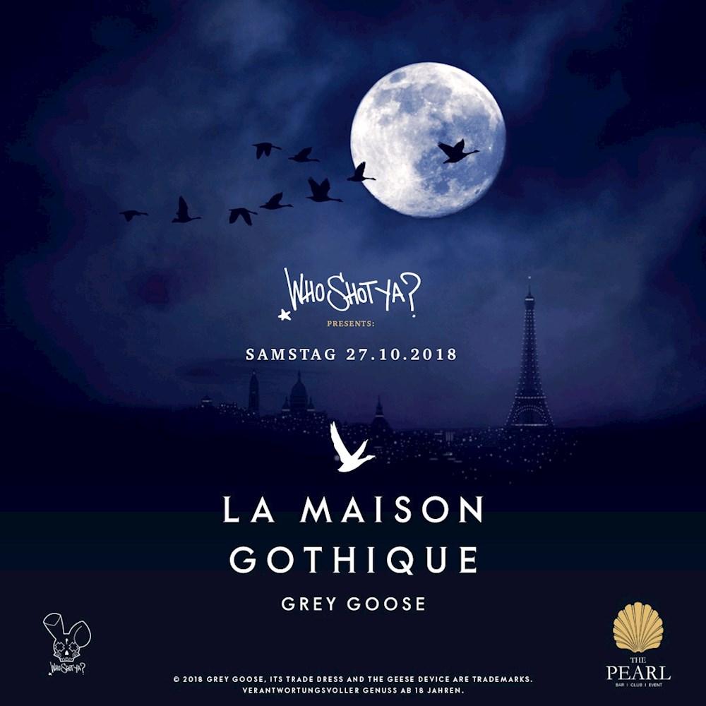 The Pearl Berlin Halloween Week | La Maison Gothique X Who Shot Ya? | JAM FM