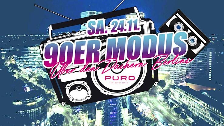 Puro 24.11.2018 90er Modus – Über den Dächern Berlins