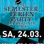 Spindler & Klatt Berlin Die Semesterferien Party der Berliner Unis