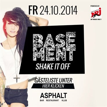 Asphalt 24.10.2014 Asphalt Basement - Shake it off auf 2 Floors powered by 103,4 ENERGY !