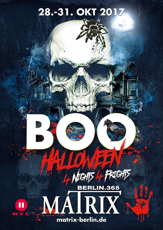 Matrix Berlin Boo Halloween Festival