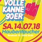 Haubentaucher Berlin Volle Kanne 90er – Die 90er Jahre Party