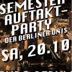 Puro Berlin Die Semesterauftakt Party der Berliner Unis