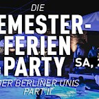 Haubentaucher Berlin Die Semesterferien Party der Berliner Unis Part II