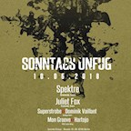 Suicide Circus Berlin Sonntags Unfug Open Air with Spektre, Juliet Fox uvm