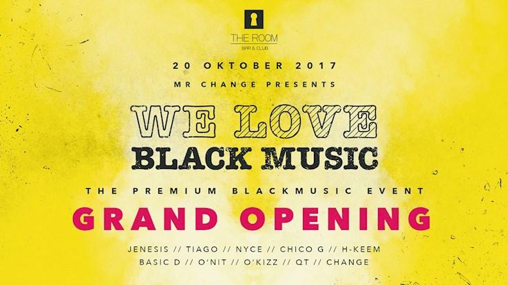 The Room 20.10.2017 We Love Blackmusic - DJ Festival - Grand Opening