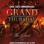The Grand Berlin Grand Thursday by 105`5 Spreeradio