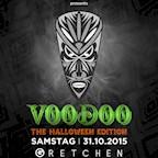 Gretchen Berlin Afro Heat presents Voodoo - The Halloween Edition - Hip Hop, Dancehall & Afrobeats