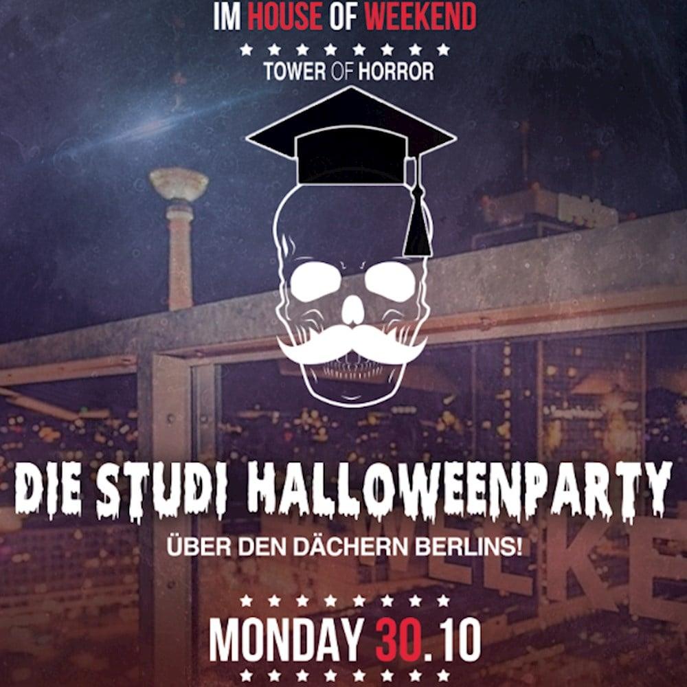 Club Weekend Berlin Tower of Horror – Die Uni-Halloweenparty über den Dächern Berlins