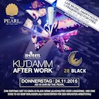 The Pearl Berlin 104.6 RTL Kudamm Afterwork x 28 Black